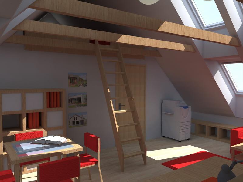 Návrhy řešení interiérů a další